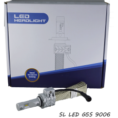 LED лампы в основные фонари серии G5S, НB4 (9006) Цоколь, 22W, 3600 Люмен/Комплект