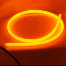 Гибкий указатель поворота  SL LED, силиконовый указатель поворота в фары 85 см.
