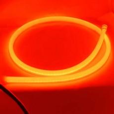 Гибкие габариты в силиконе SL LED, гибкая лента в фары 85 см. комплект, 12V, красный