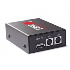 Автомобильный MP3 адаптер GROM USB3PLUS (USB/Android®/Bluetooth®/iPod®/AUX)