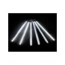 """Гирлянда светодиодная """"Капля"""" super LED 50см (тающая сосулька), синяя, белая"""