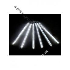 """Гирлянда светодиодная """"Капля"""" super LED 30см (тающая сосулька), синяя, белая, микс"""
