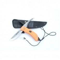 Нож Ganzo G802 (черный, оранжевый)