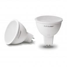 Точечная светодиодная EUROLAMP LED Лампа ЕКО MR16 5W 12V GU5.3 3000K