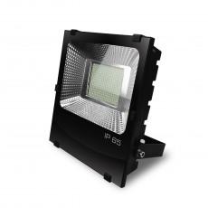 Светодиодный EUROELECTRIC LED SMD Прожектор черный с радиатором 150W 6500K