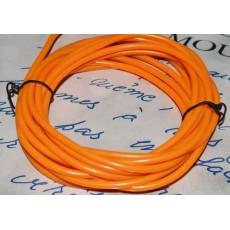 Электролюминесцентный провод (холодный неон) III поколение, диаметр- 5мм., цвет- оранжевый