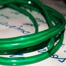 Электролюминесцентный провод (холодный гибкий неон) III поколение, диаметр- 5мм., цвет- зеленый