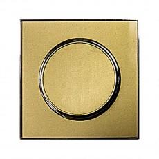 Выключатель RIGHT HAUSEN LAURA 1-й внутр. золото HN-015018