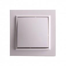 Выключатель RIGHT HAUSEN KIRA 1-й внутр. белый HN-016011