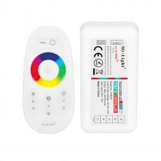 RGBW-контроллер Mi-Light RF радио с пультом, сенсорный (2,4 ГГц)