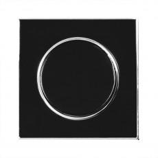 Выключатель RIGHT HAUSEN LAURA 1-й внутр. черный HN-015012