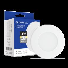 Панель (мини) GLOBAL LED SPN 3W мягкий свет (1-SPN-001) (NEW)