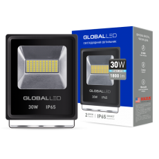 Прожектор LED GLOBAL FLOOD LIGHT 30W 5000K (1-LFL-003)