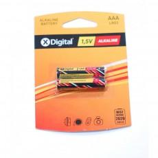 Батарейки X-DIGITAL LR 03 (1,5 V AAA 2 шт)