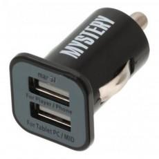 Зарядное устройство USB Mystery MUC 2/3A 12/5V 3А