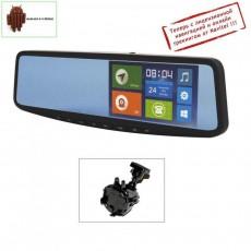 Мультимедийное зеркало заднего вида с монитором Jimi JC600 - 30A