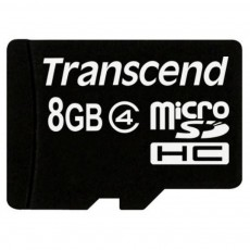 Карта памяти microSDHC Transcend 8 GB Class 4