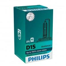 Ксеноновая лампа D1S Philips 85415XV2C1 X-tremeVision gen2 +150%