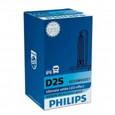 Ксеноновая лампа D2S Philips 85122WHV2C1 WhiteVision gen2