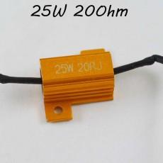 Нагрузочный резистор (обманка LED ламп) 25Вт., 20 Ом.