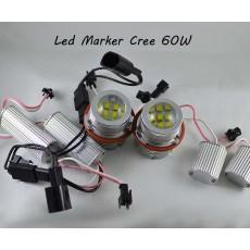 Светодиодные лампы (ангельские глаза) BMW 60W 1000 LUMEN