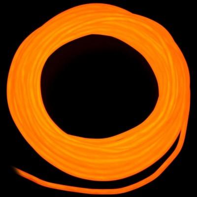 Холодный неон третьего поколения - Оранжевый, 5мм