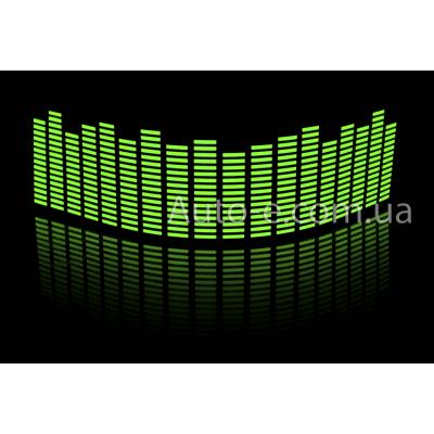 Эквалайзер зелёный 70*16см