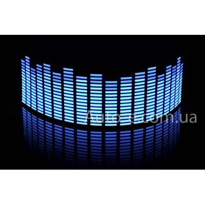 Эквалайзер неоновый 90*25см