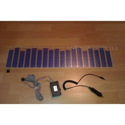 Эквалайзер синий 70*16см