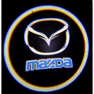 Подсветка дверей авто - Mazda