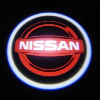 Подсветка дверей авто - Nissan