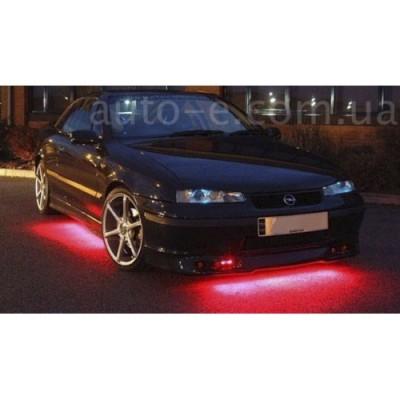 Подсветка днища авто 4 ленты: 2*60см и 2*90см