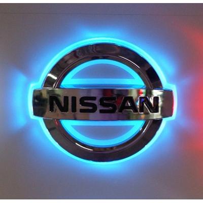 Подсветка лого авто - Nissan