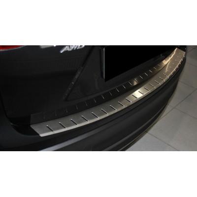 Накладка на бампер с загибом для Chevrolet Cruze 4D 2012+