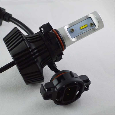 LED комплект  ДХО и ПТФ поколение G7 цоколь H16 24W 4000 Люмен/Комплект
