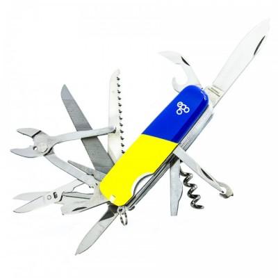 Нож Ego A01.16, синежелтый
