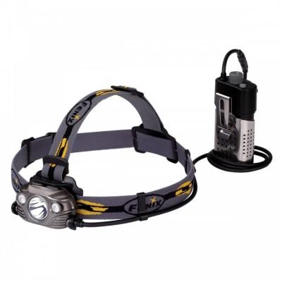 Налобный фонарь Fenix HP30R Cree XM-L2, XP-G2 (R5) (серый, черный)