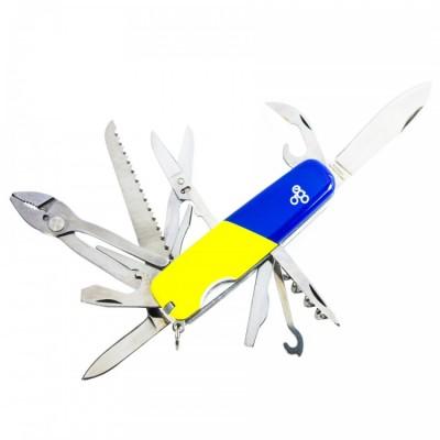 Нож Ego A01.12, синежелтый