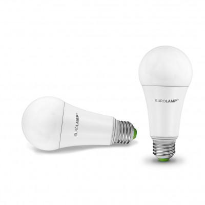 Классическая светодиодная EUROLAMP LED Лампа ЕКО А70 20W E27 4000K