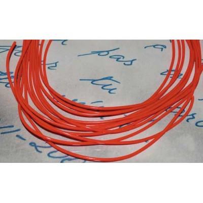 Электролюминесцентный провод (холодный гибкий неон) III поколение, диаметр- 2.2мм., цвет- красный