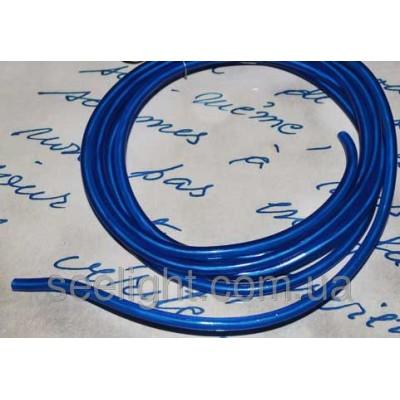Электролюминесцентный провод (холодный гибкий неон) III поколение, диаметр- 5мм., цвет- синий