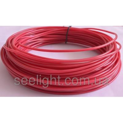 Электролюминесцентный провод (холодный неон) III поколение, диаметр- 2.6мм., цвет- пурпурный