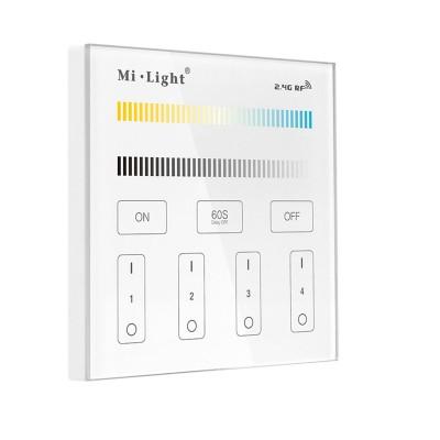 Панель управления Mi-Light сенсорная 4 зоны Dual White/CCT