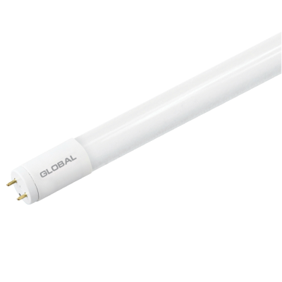 LED лампа GLOBAL T8, 8W, 60 см, холодный свет, G13,(0865-02)