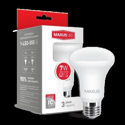 LED лампа R63 7W мягкий свет 220V E27 (1-LED-555) (NEW)