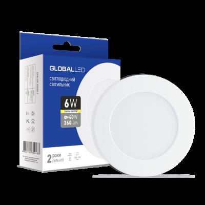 Панель (мини) GLOBAL LED SPN 6W мягкий свет (1-SPN-003) (NEW)