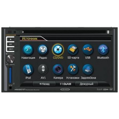 2-DIN DVD Монитор Jensen VM 9424R