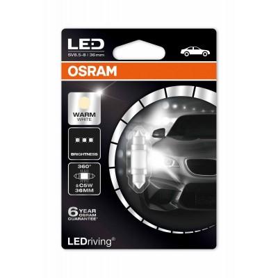 Лампа светодиодная OSRAM LEDriving – Premium (C5W, 6498WW-01B)