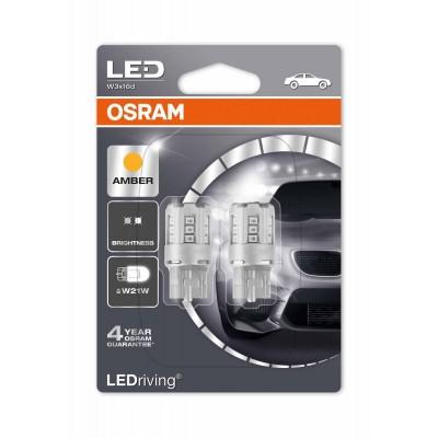 Лампа светодиодная OSRAM LEDriving - Standard (W21W, 7705YE-02B)