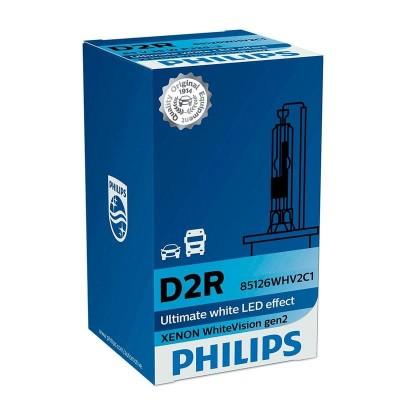 Ксеноновая лампа D2R Philips 85126WHV2C1 WhiteVision gen2